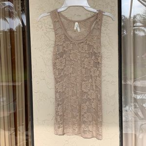 Great nude color tank, BN